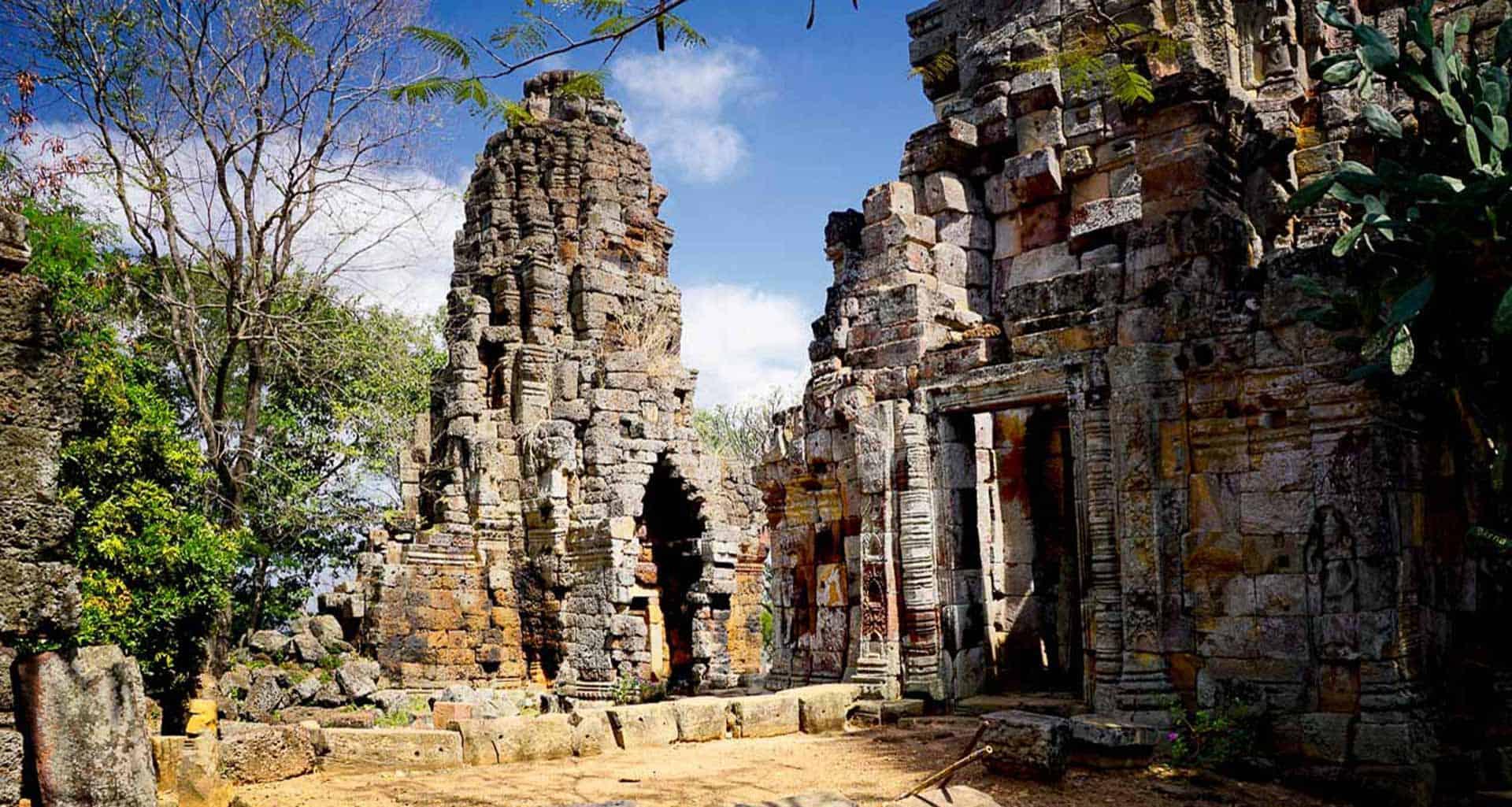 Temple Wat Banan a Battambang