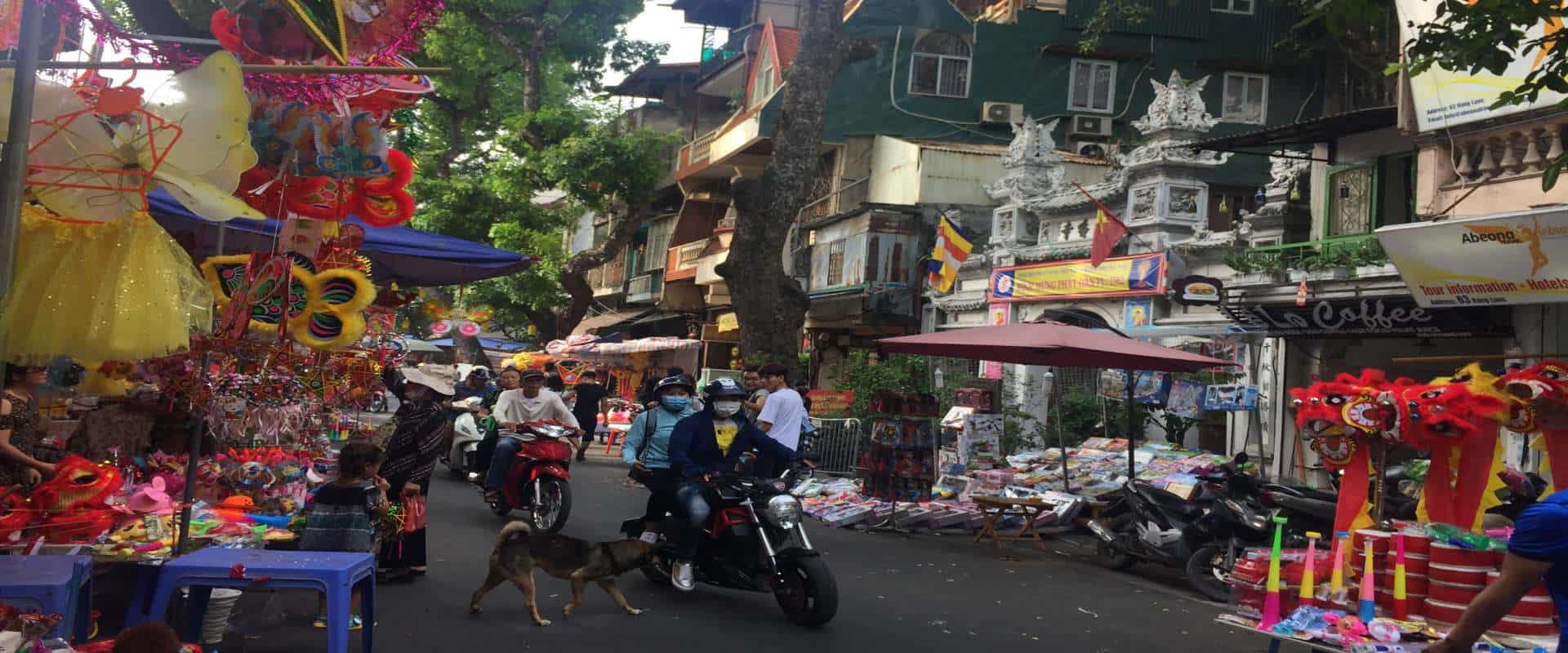 Le vieux quartier d'Hanoi