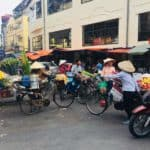 Marché Dong xuan Hanoi