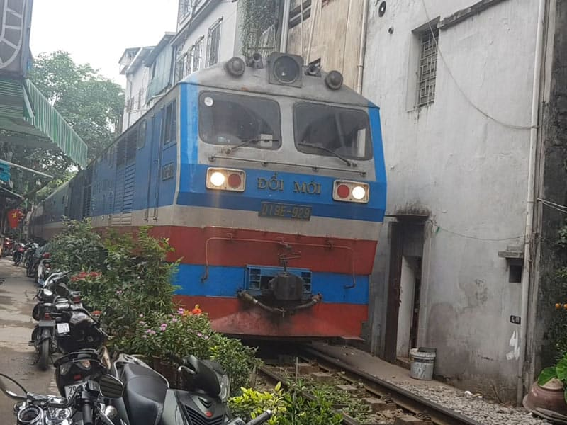 Train de Ha noi