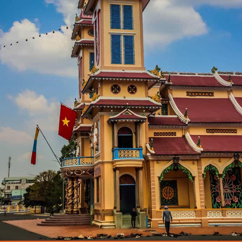 Temple Cao Dai a Tay Ninh