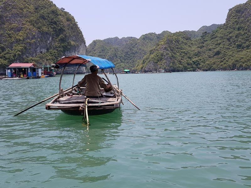 croisière a la baie de Lan Ha