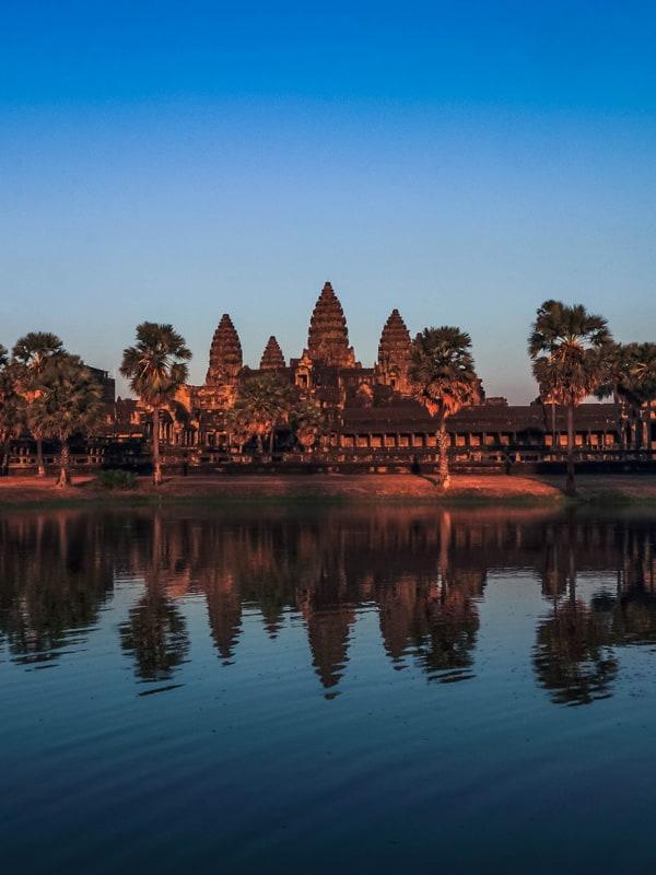 les patrimoines du cambodge