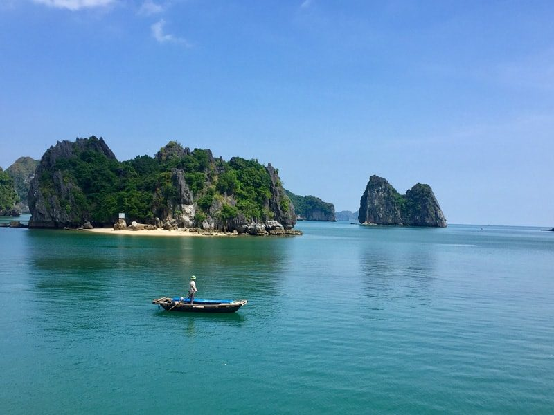 plage a Halong