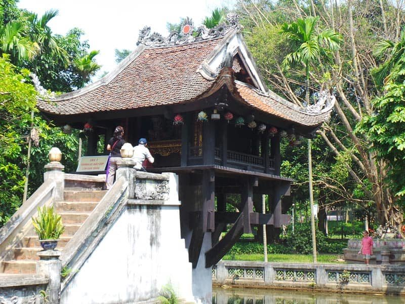 pagode au pilier unique