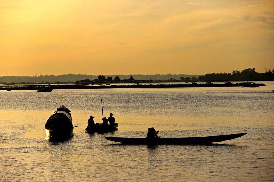 Lever du soleil à Hue