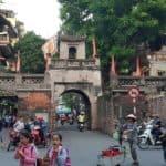 vieux quartier d'Hanoi