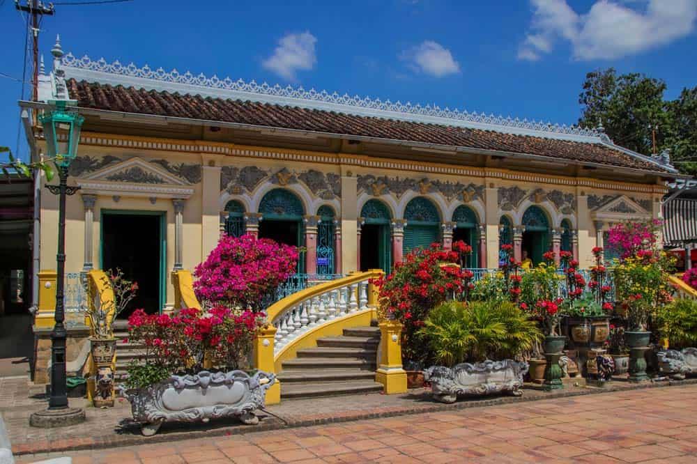 Maison ancienne de Binh Thuy