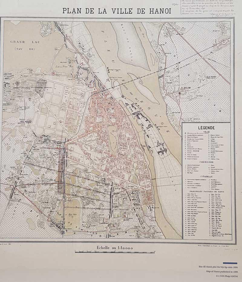 carte de Hanoi
