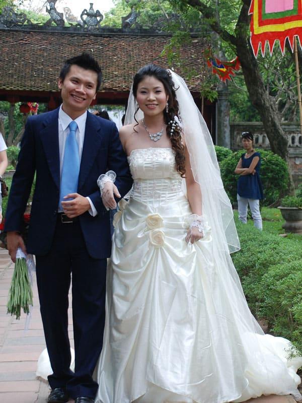 mariage au temple