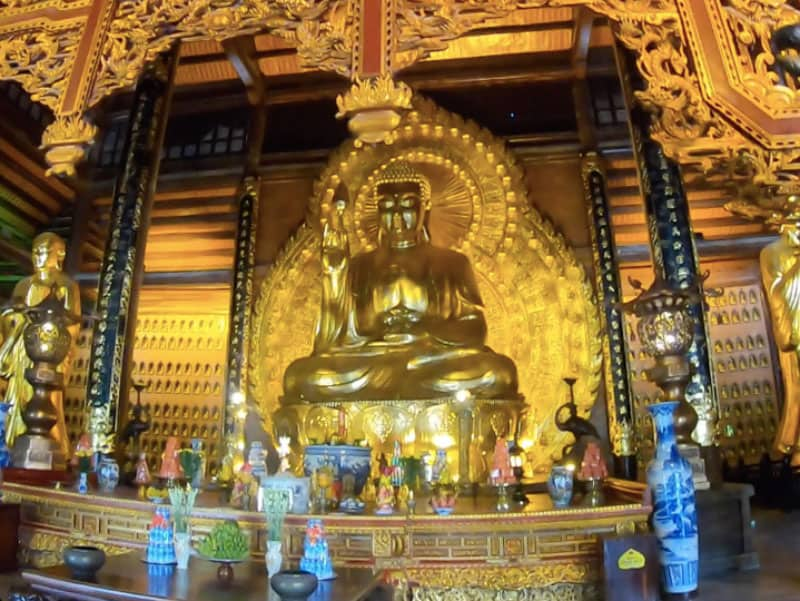 Bouddha a Bai Dinh