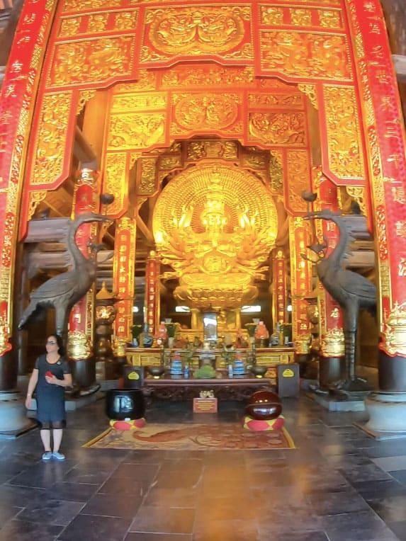 Bouddha Quan the Am Pagode Bai dinh