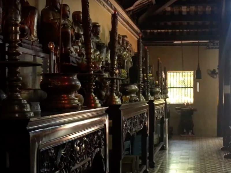 les statuts de la pagode Giac Lam