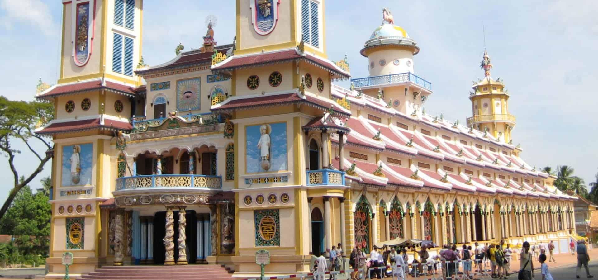 Le temple Cao Dai a Tay Ninh