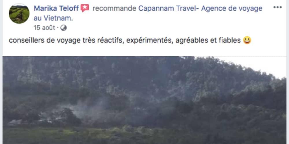 Recommandé sur Facebook