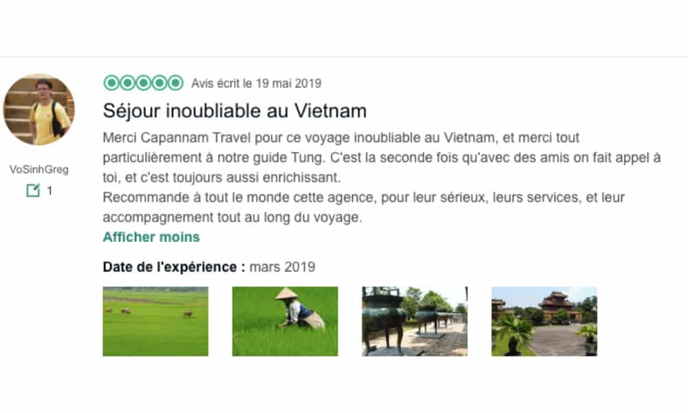 Avis sur Capannam Travel