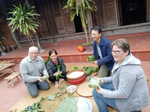 Apprendre a faire Banh chung