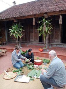 la fete du Tet au Vietnam