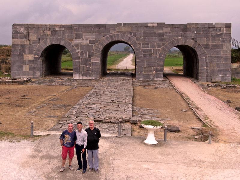 Porte du Midi de la citadelle des Ho