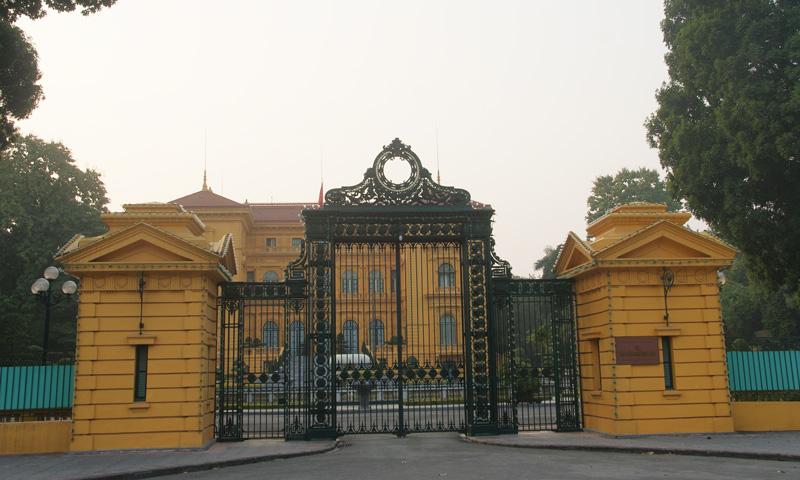palais présidentiel à Hanoi