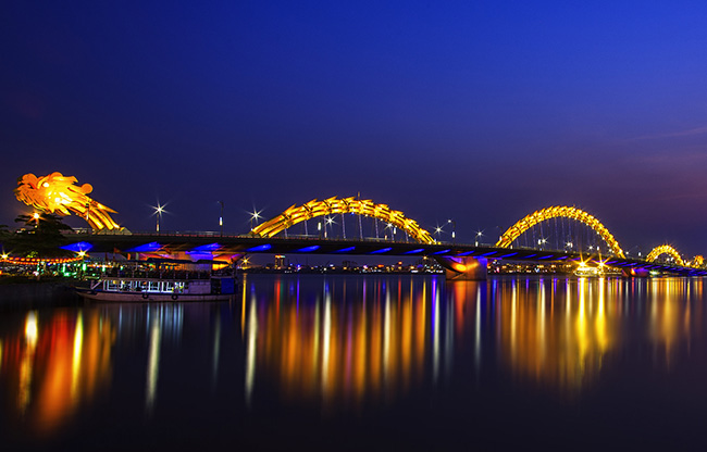 pont dragon-Da-Nang