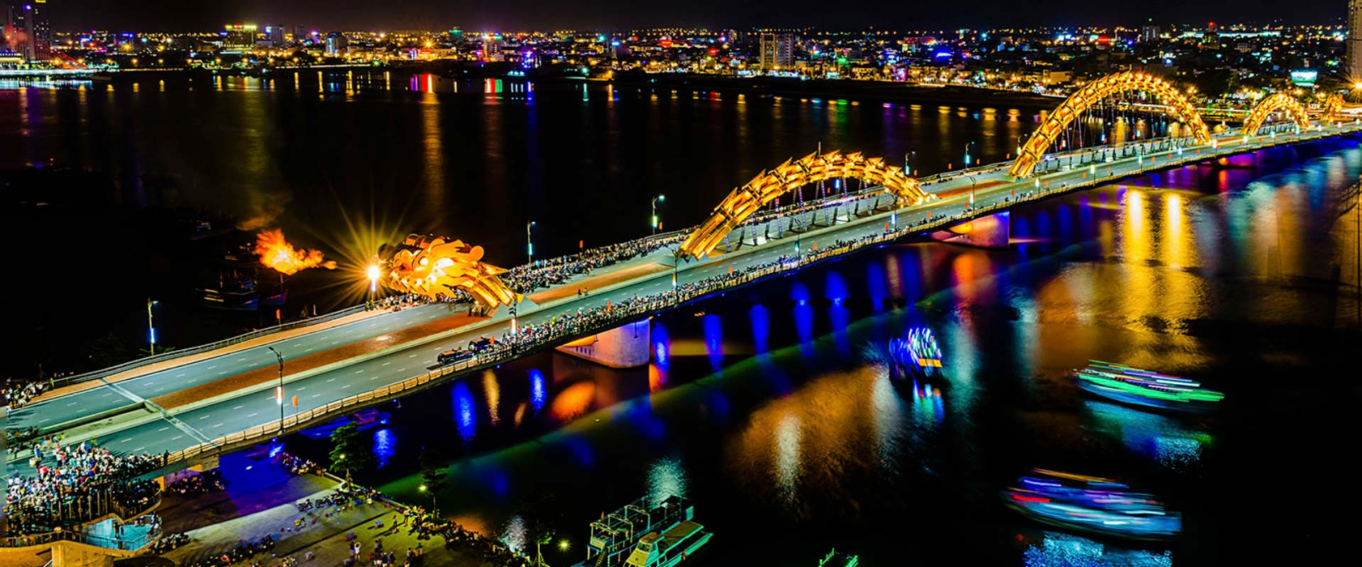 Pont dragon Da Nang