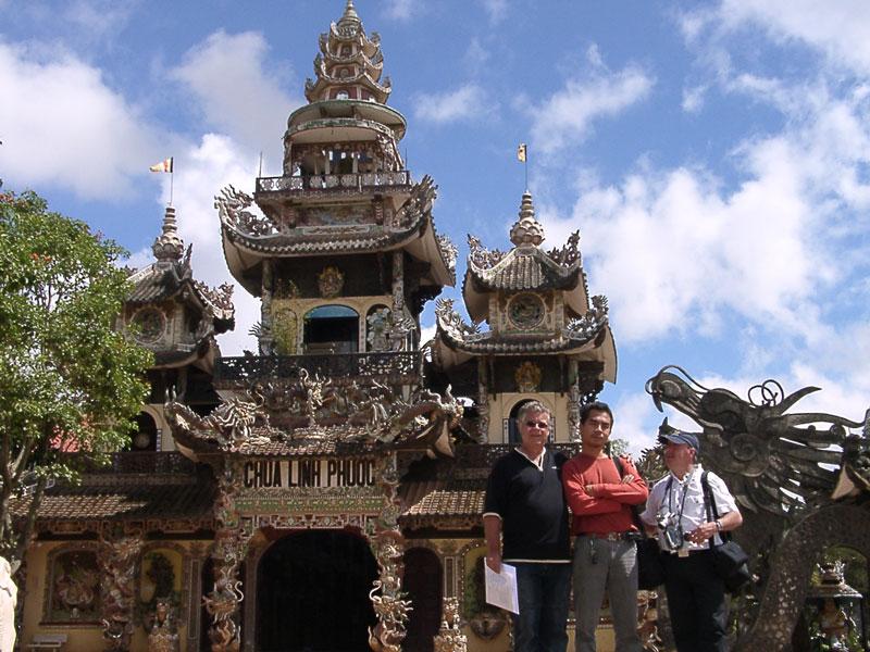 La pagode de Linh Phuoc