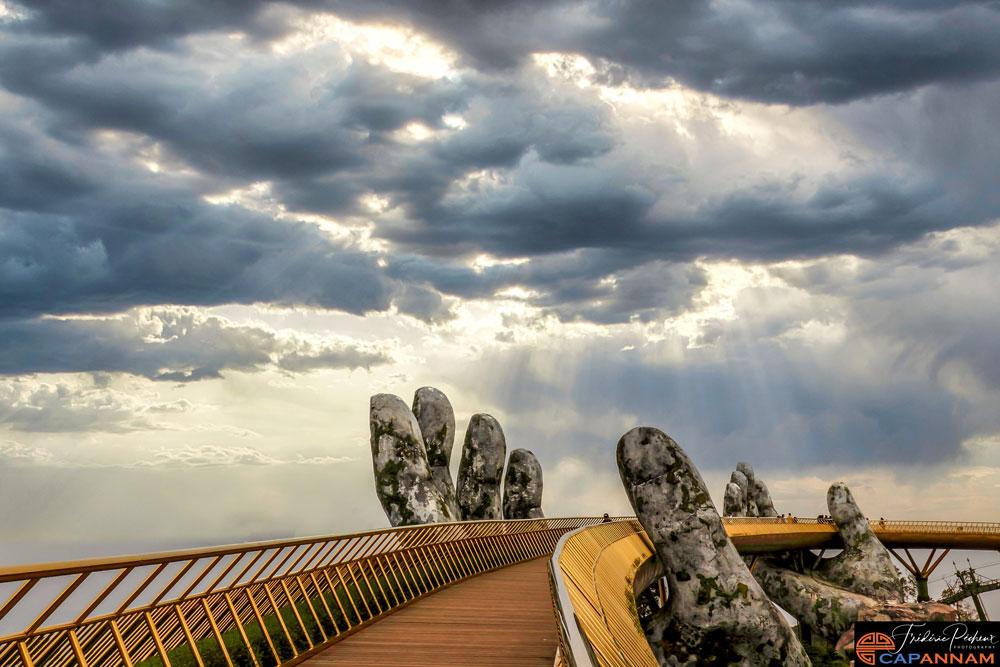 Pont d'or de Bana Hills