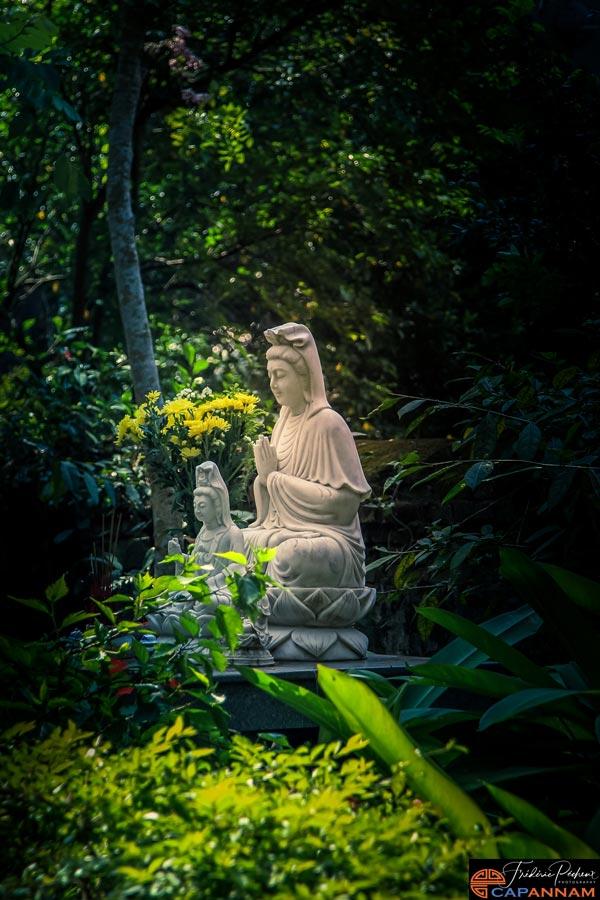 la statue dans la montagne de marbre à Danang