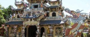 La pagode Linh Phuoc Dalat