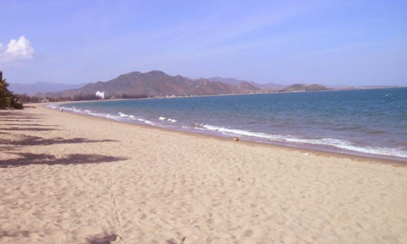 La plage de Ninh Chu