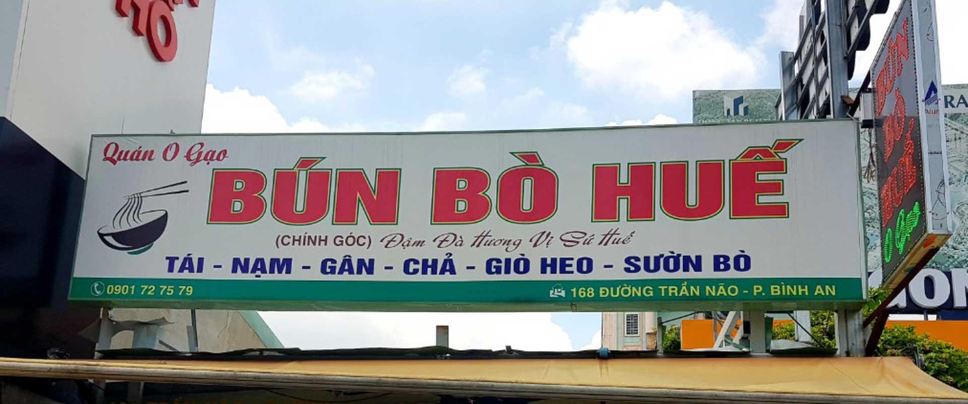 Bun Bo Hue a Saigon