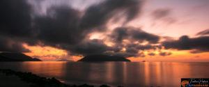 Le coucher du soleil à Côn Đảo