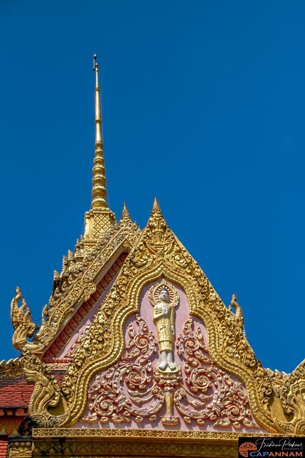 Munirangsyaram: de l'or au bout des toits