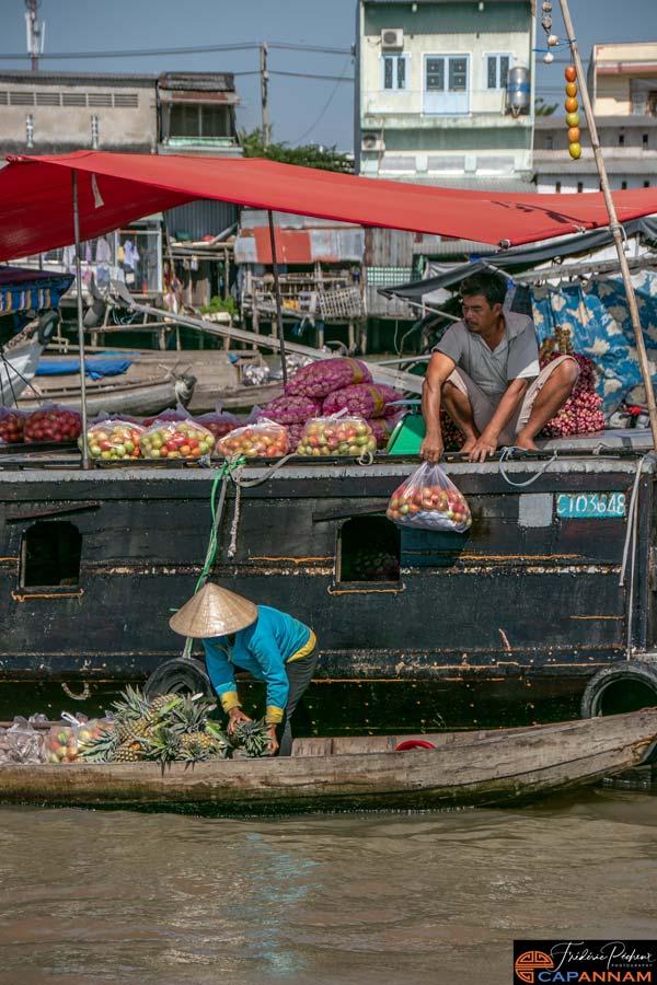 Activité au Mekong