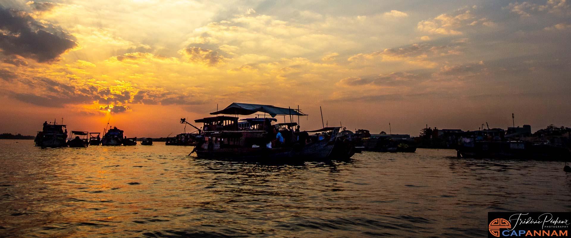 Croisière sur le Mekong